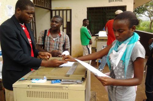Article : Yaoundé : photocopier pour étudier