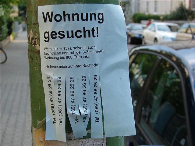 Conseils pour trouver un logement berlin g n ration berlin for Chambre colocation montreal