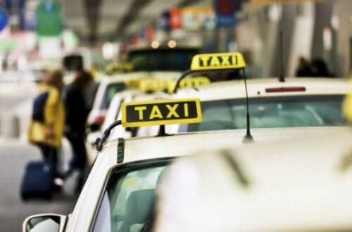 Article : Un taxi berlinois un peu trop blanc